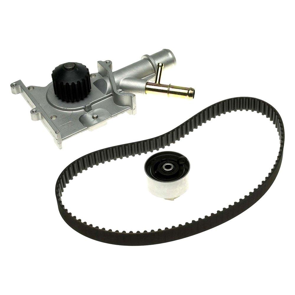 Ford Timing Belt : Gates tckwp ford focus l p engine vin character
