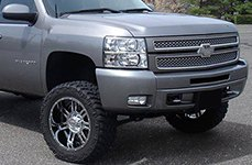 GEAR ALLOY® - CHALLENGER Bright PVD on Chevy Silverado