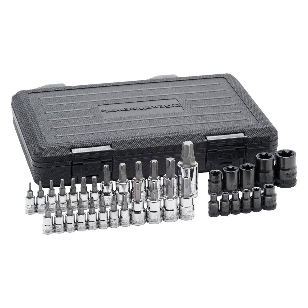 gearwrench 80728 36 pcs master torx bit socket set. Black Bedroom Furniture Sets. Home Design Ideas