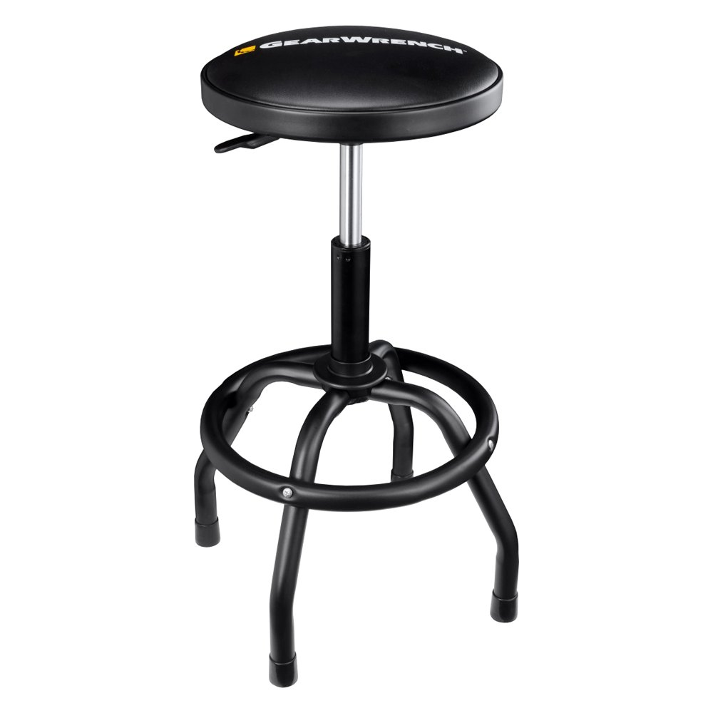 Gearwrench 174 86992 Adjustable Height Swivel Shop Stool