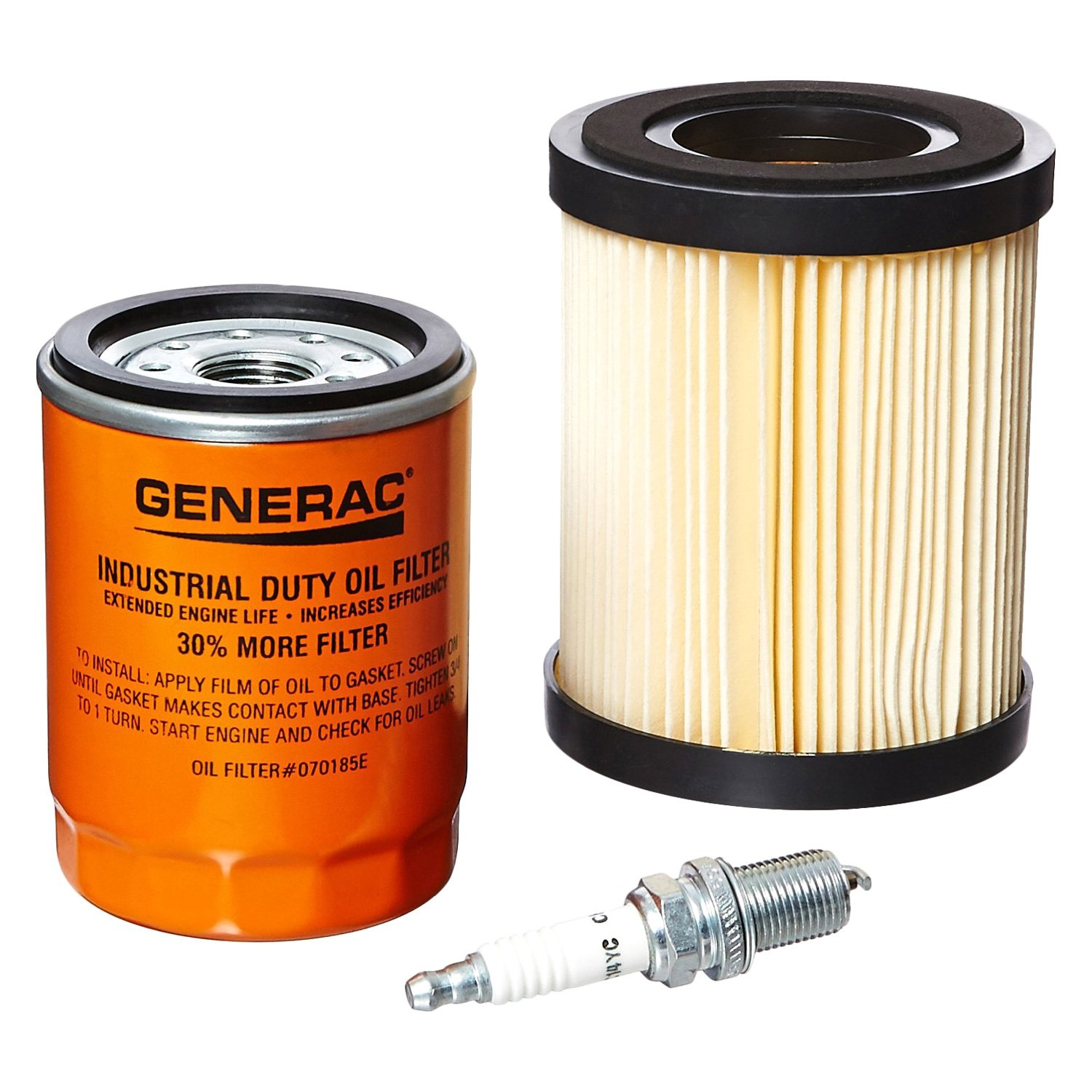 Generac 5662 scheduled maintenance kit for 8kw and for Who makes generac motors