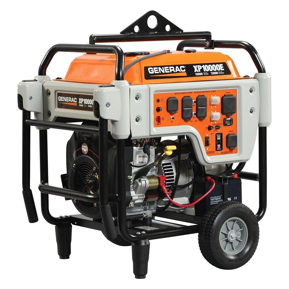 Generac 5932 xp series 10 kw electric start portable for Who makes generac motors