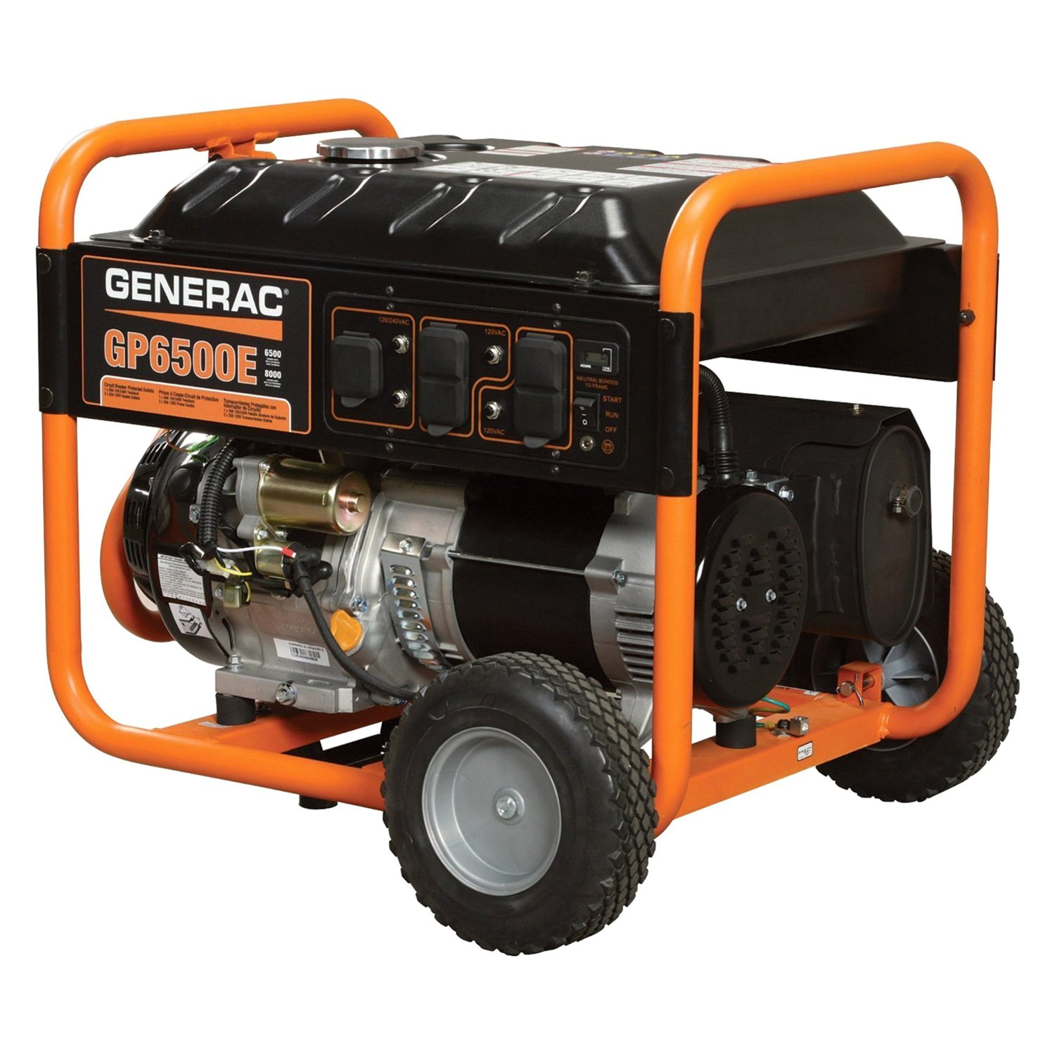 Generac® 5941 - GP Series 6,5 kW Electric-Manual Start Portable ...