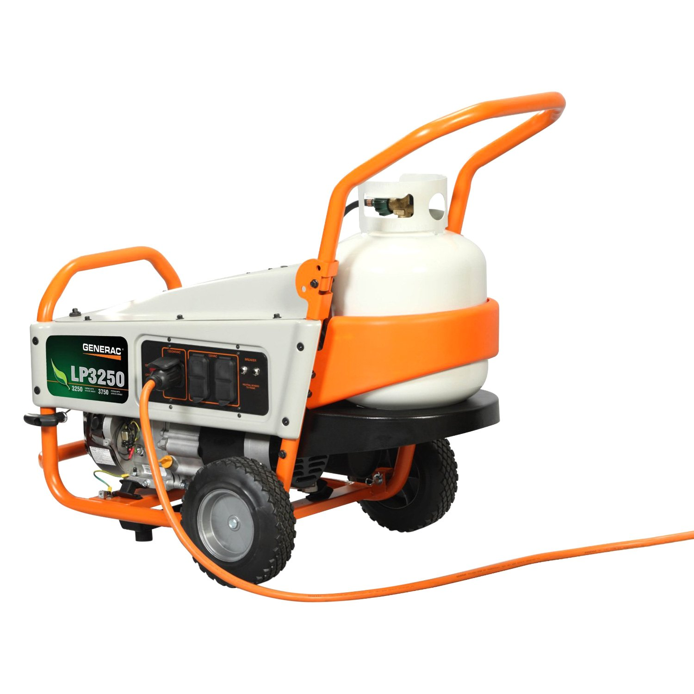 Generac 6000 LP Series 3 25 kW Manual Start Liquid Propane