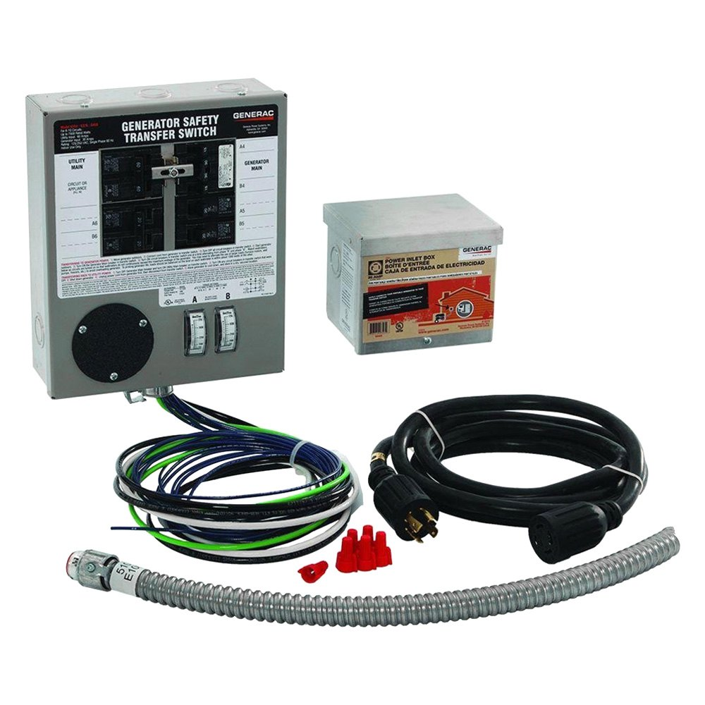 30 amp manual transfer switch