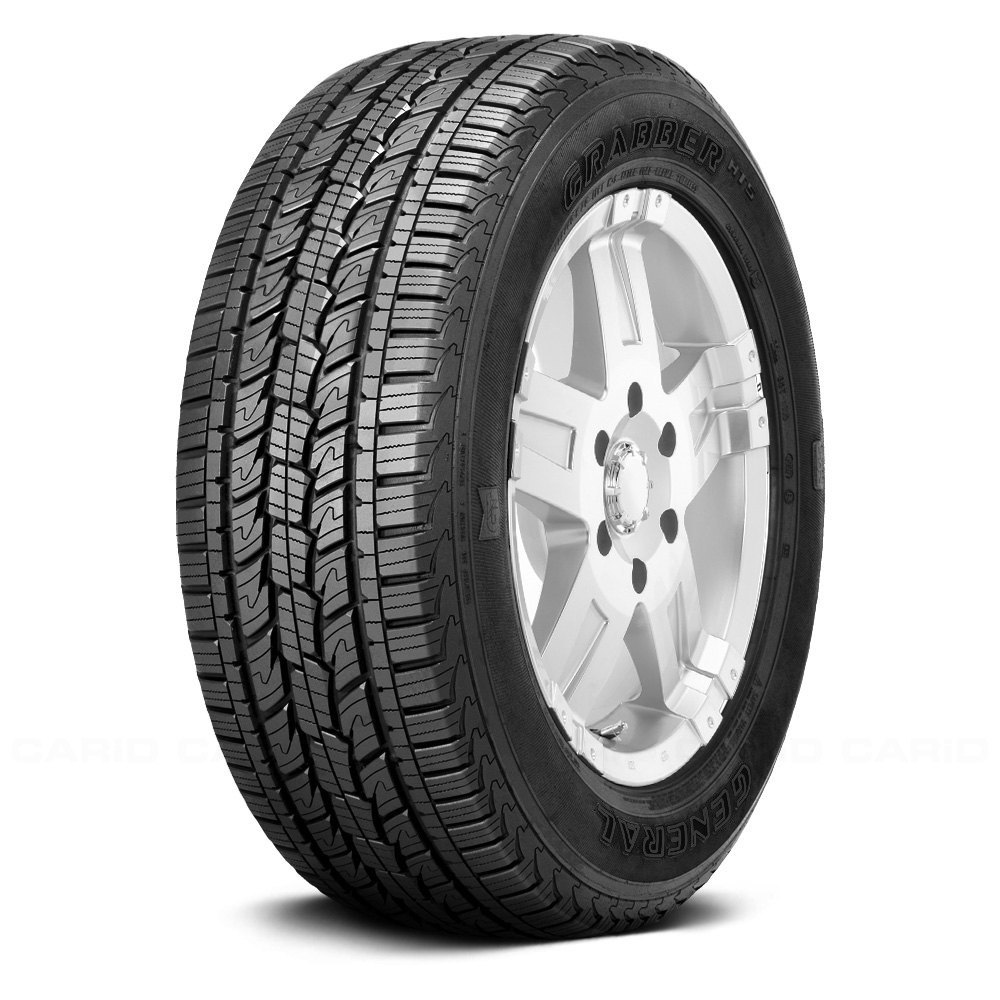 General Set Of 4 Tires 235 75r15 T Grabber Hts All Season