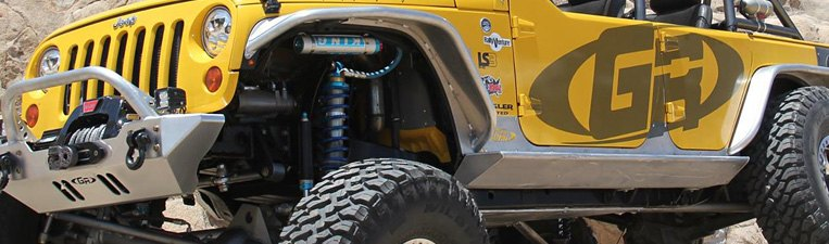 GenRight Jeep Off-Road Accessories & Parts