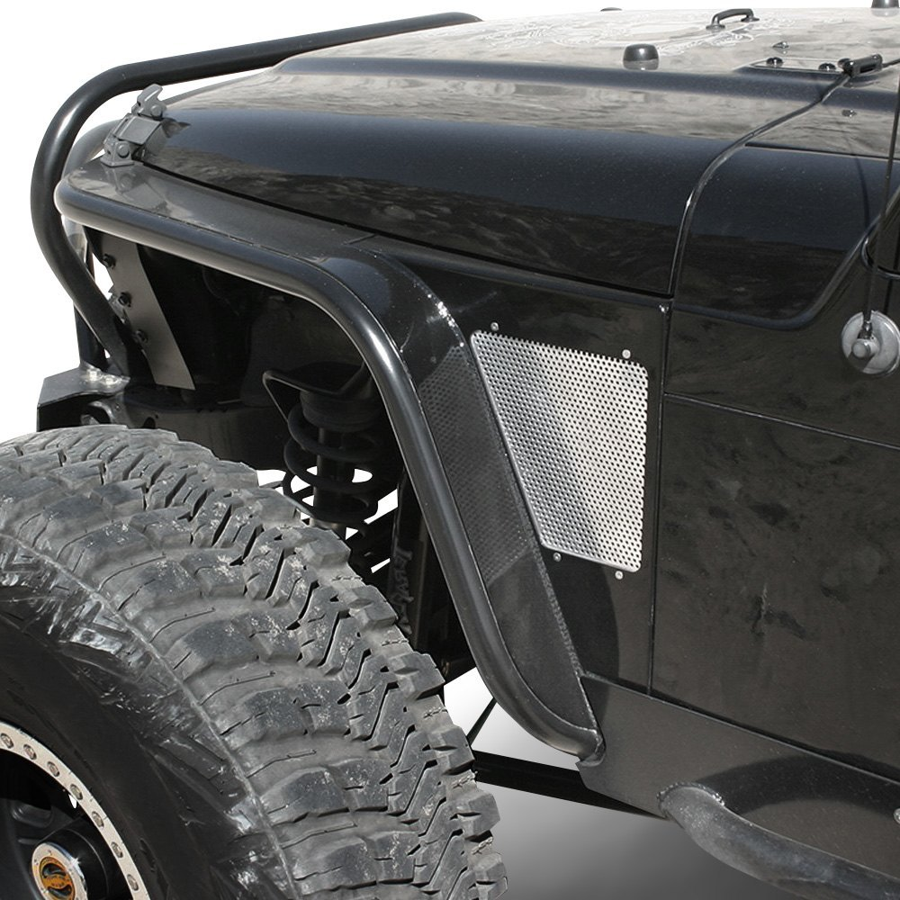 Jeep Wrangler 1997-2001 GenRight TFF-2700 Steel Front Tube