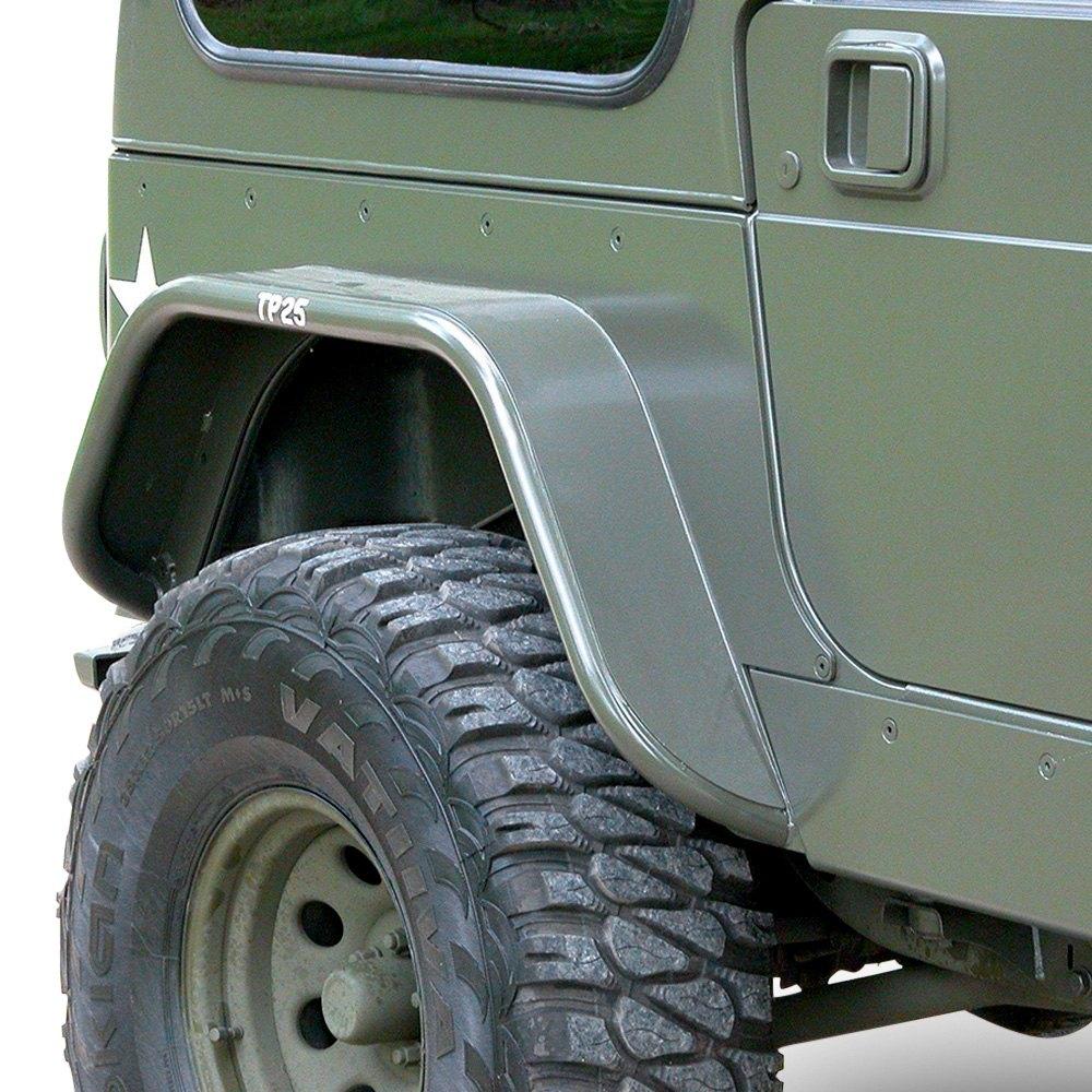 GenRight® - Jeep CJ5 / CJ7 1976 Tube Fender Flares