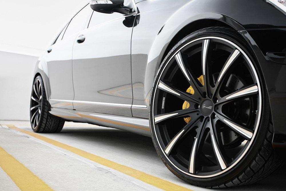 Gianelle Cuba Black Ball Cut Details Mercedes S