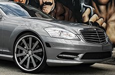 GIANELLE® - SANTO 2SS on Mercedes S Class