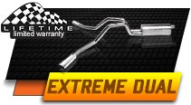 Gibson Dual Extreme Exhaust System