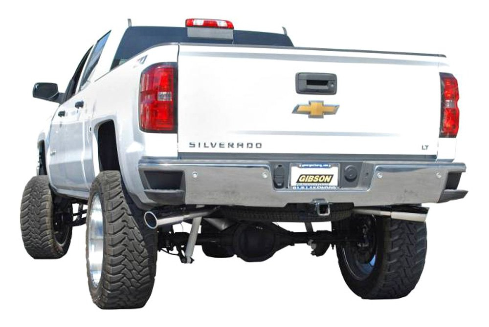 Gibson Chevy Silverado 2018 Extreme Dual Cat Back Exhaust System