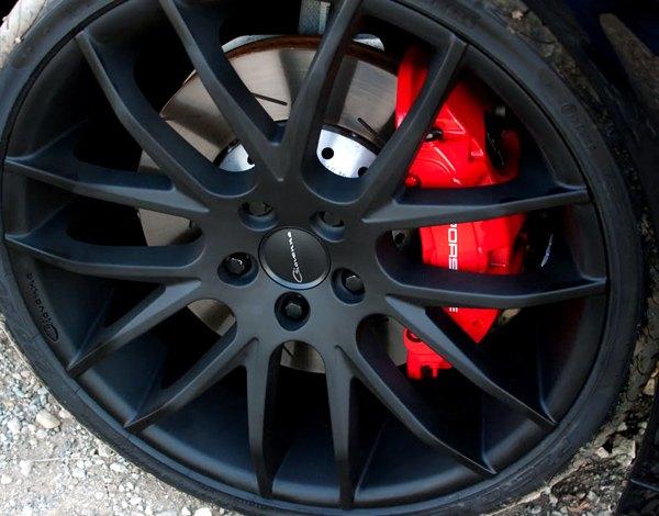 Giovanna kilis wheels black rims