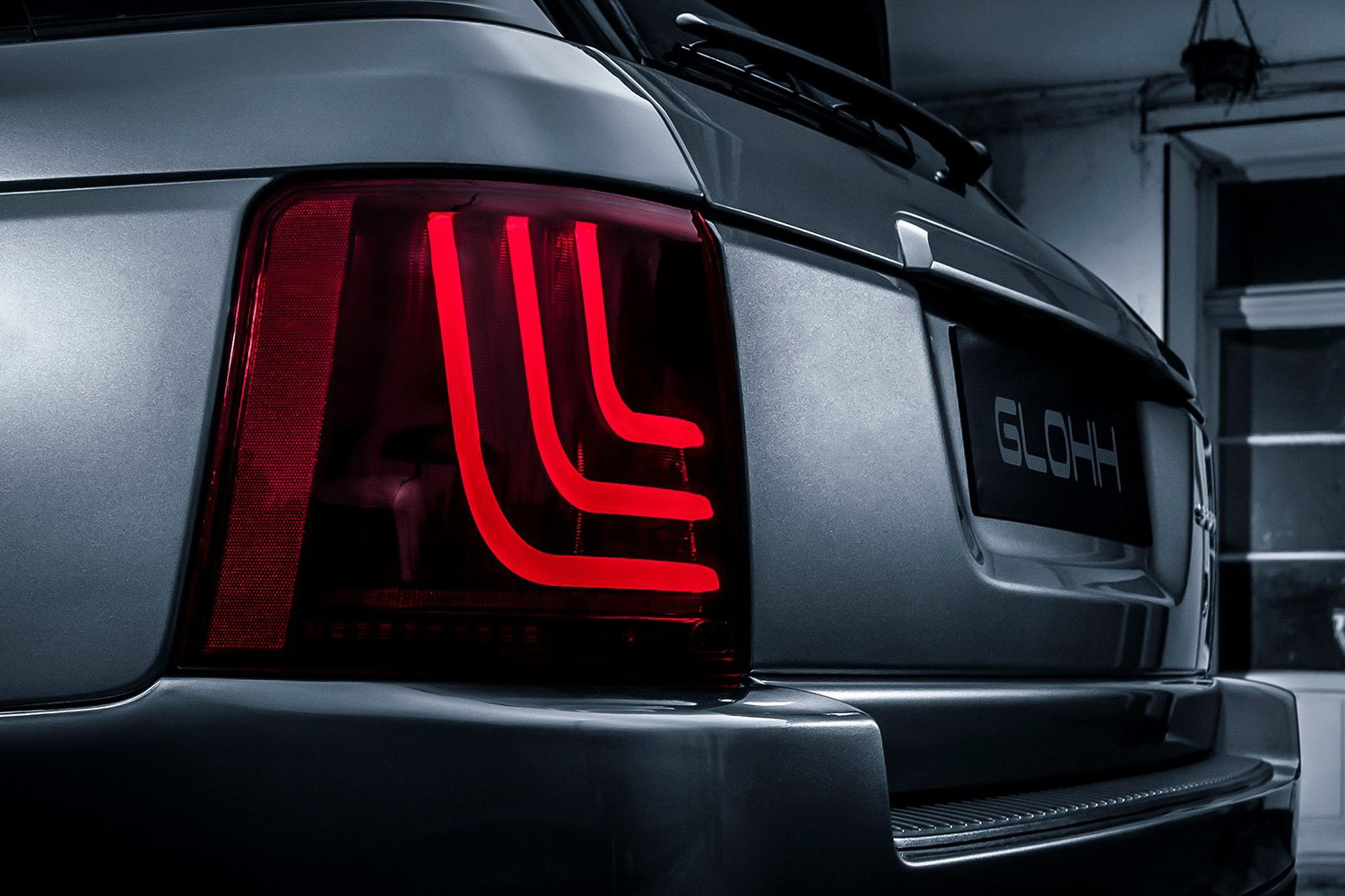 Installedglohh Gl 3 Dynamic Red Fiber Optic Led Tail Lights