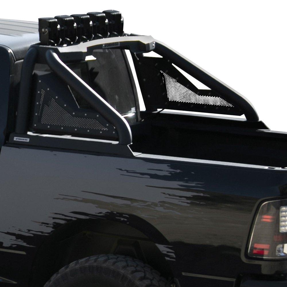 Gmc Sierra Roof Rack >> Go Rhino® 911000T - Textured Black Mild Steel Sport Bar 2.0