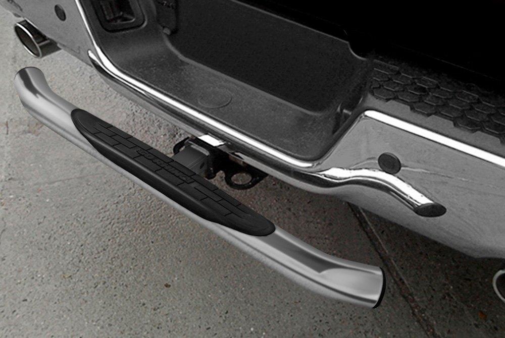 Rhino Polished Steel Rear Hitch Step For