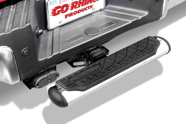 Hitch Step Stainless 4 Quot Oval Rhino Hitch Step Fits 2