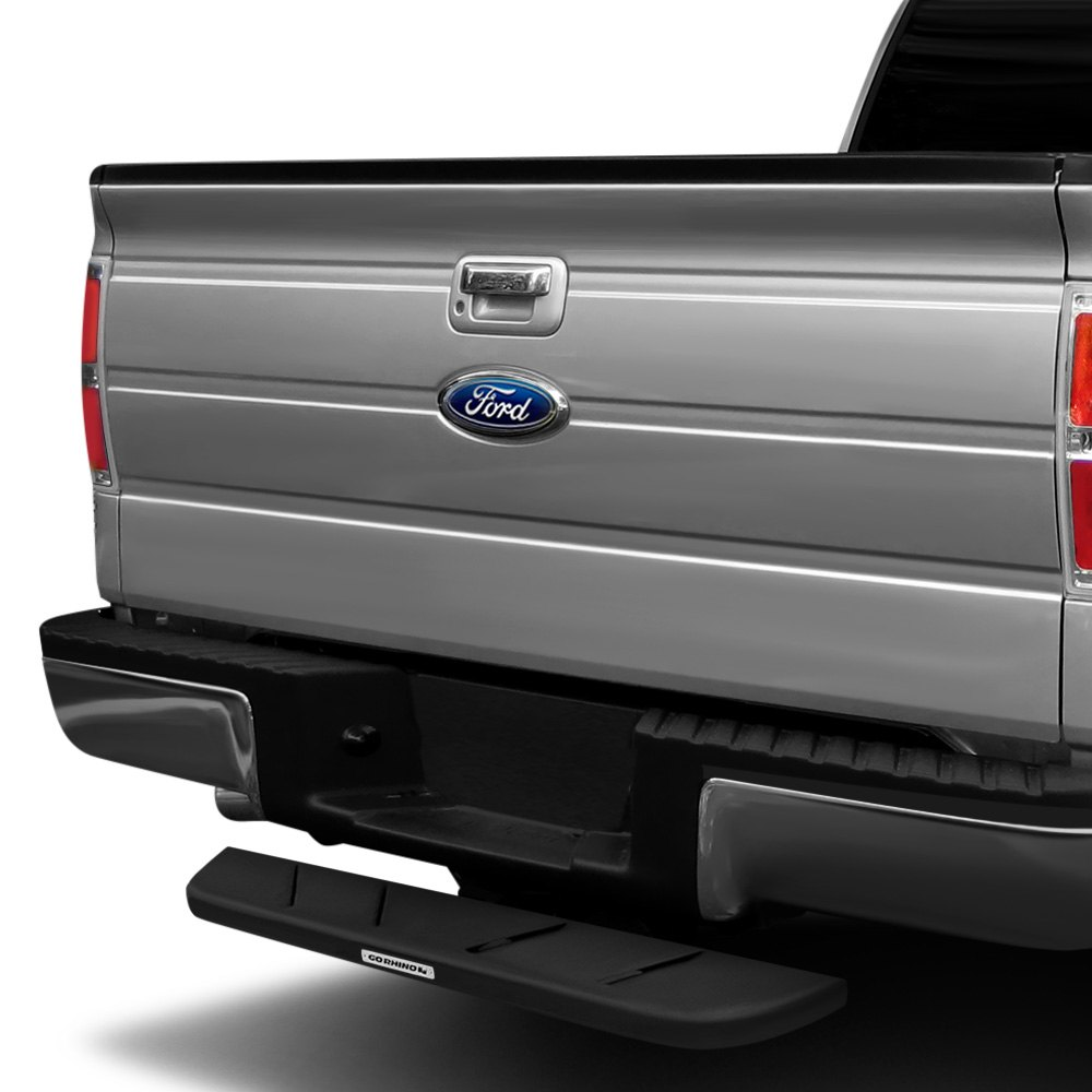 """Rhino Truck Bed Liner >> Go Rhino RB610T RB10 Protective Bedliner Coating Hitch Step for 2"""" Receivers 