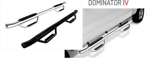 Dominator D4 Series Dual-Step™ SideSteps