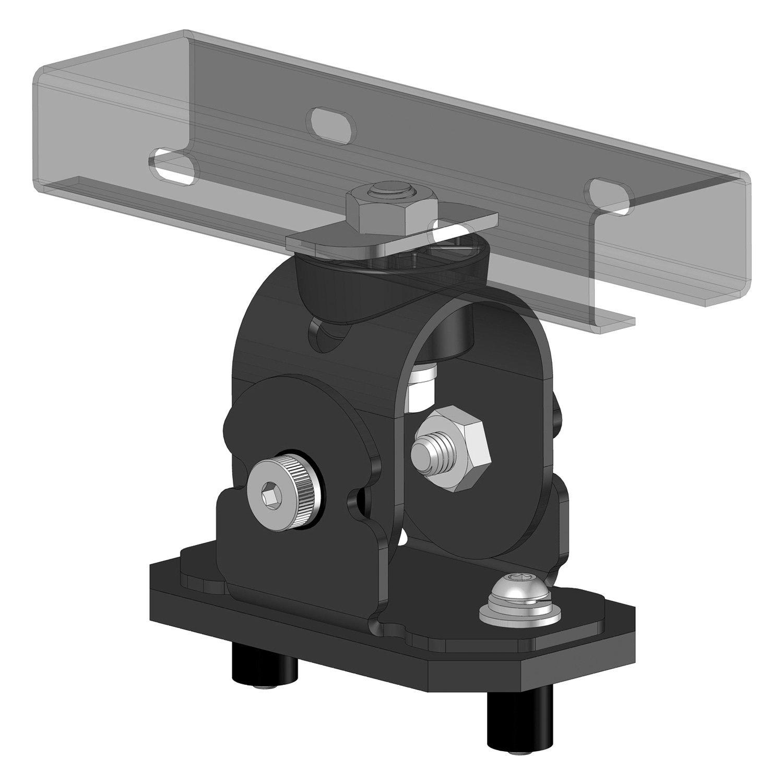 Go Rhino Srm Series Adjustable Tri Axis Roof Rack Mounting