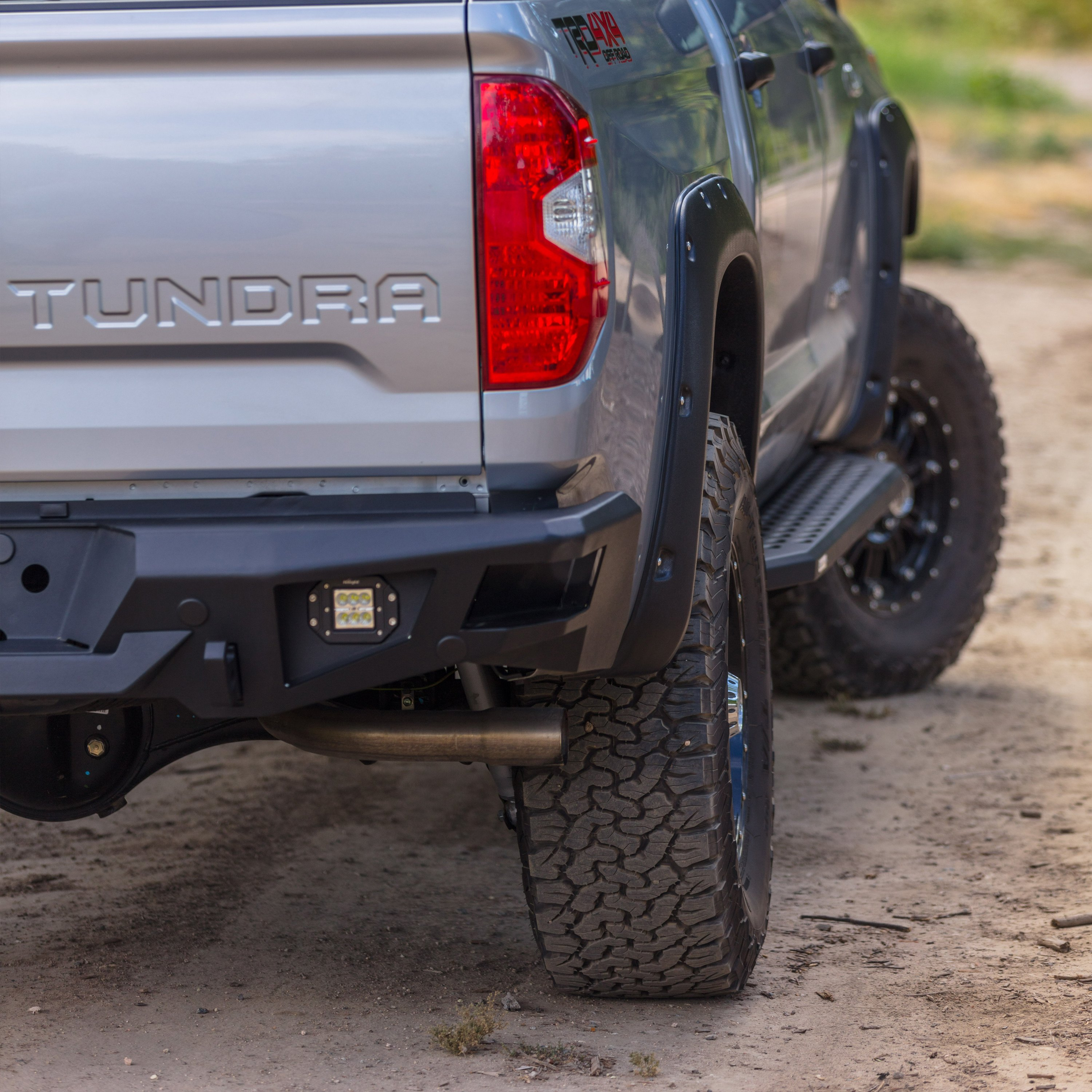 Go Rhino Textured Black 69442987PC RB20 Running Boards Toyota Tacoma Double