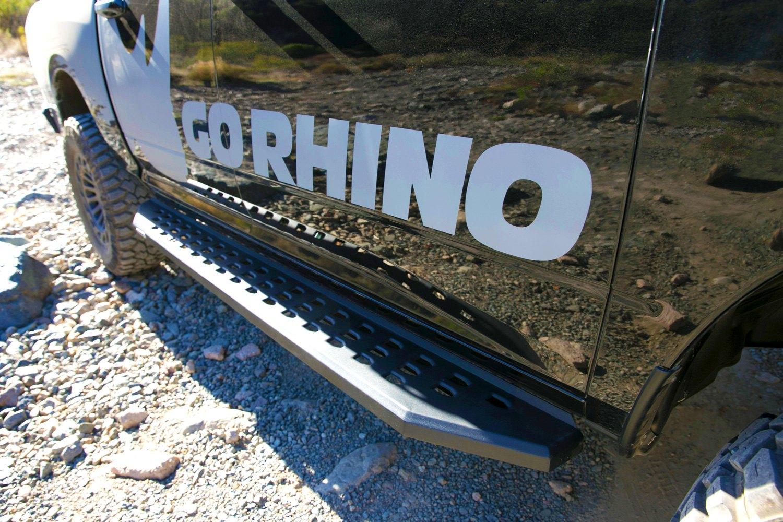 "Go Rhino Running Boards >> Go Rhino® - Jeep Wrangler 2007 5"" RB20 Wheel-to-Wheel Black Running Boards"