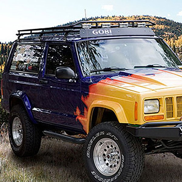 Jeep Cargo Basket: Jeep Grand Cherokee WJ Body Code 1998 Stealth Roof