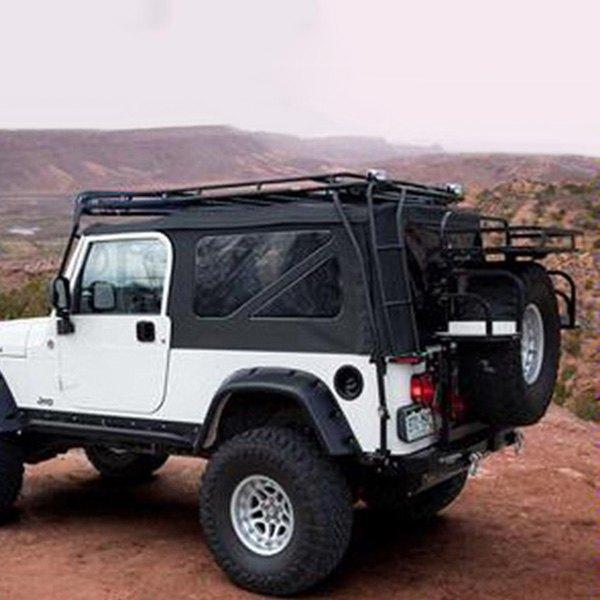 Jeep Wrangler 1997-2001 Stealth Roof Cargo Basket