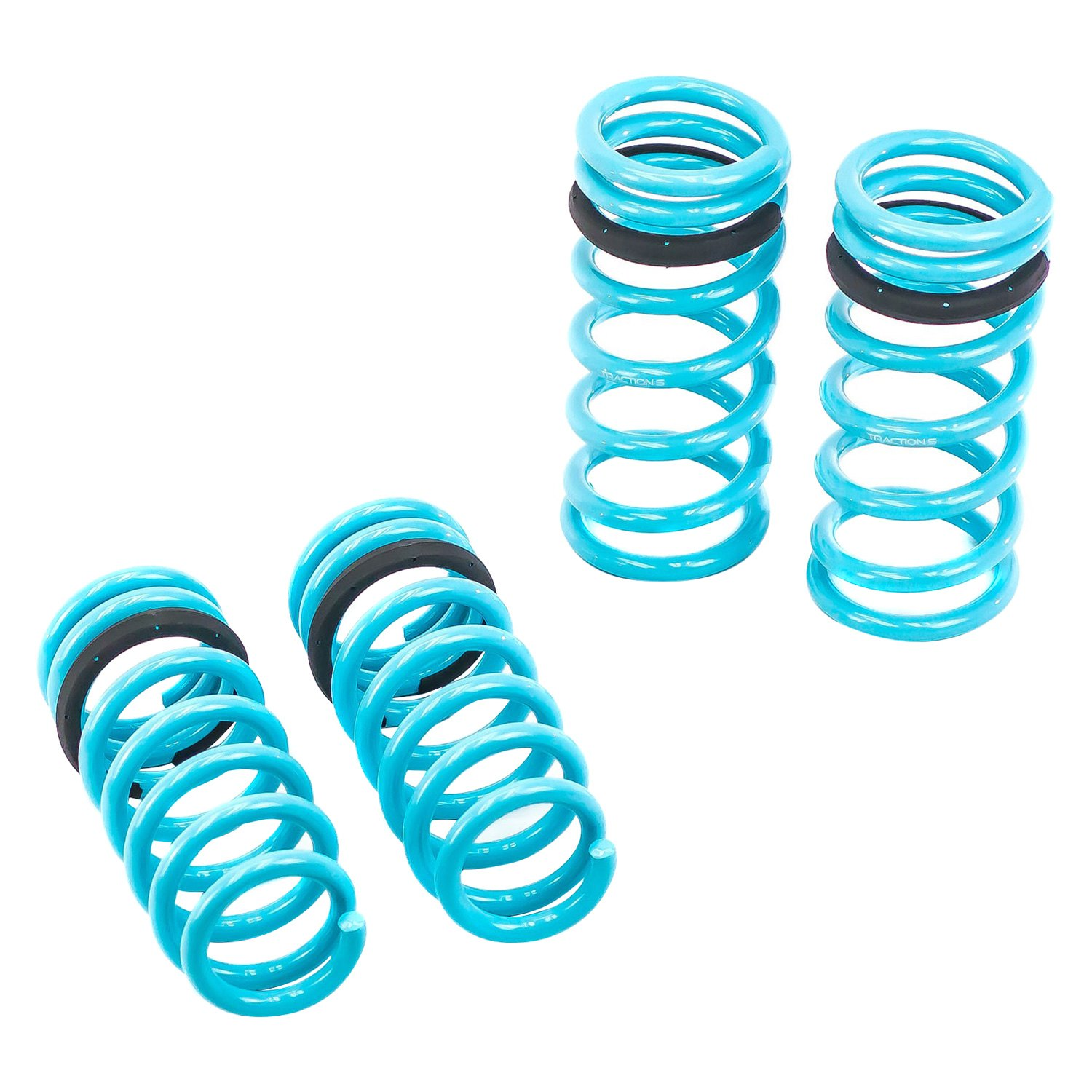 Set of 4 Godspeed LS-TS-MC-0002 Traction-S Sports Lowering Springs 2002-06 compatible with MINI Cooper//Cooper S Improved Handling Reduce Body Roll R50//R53