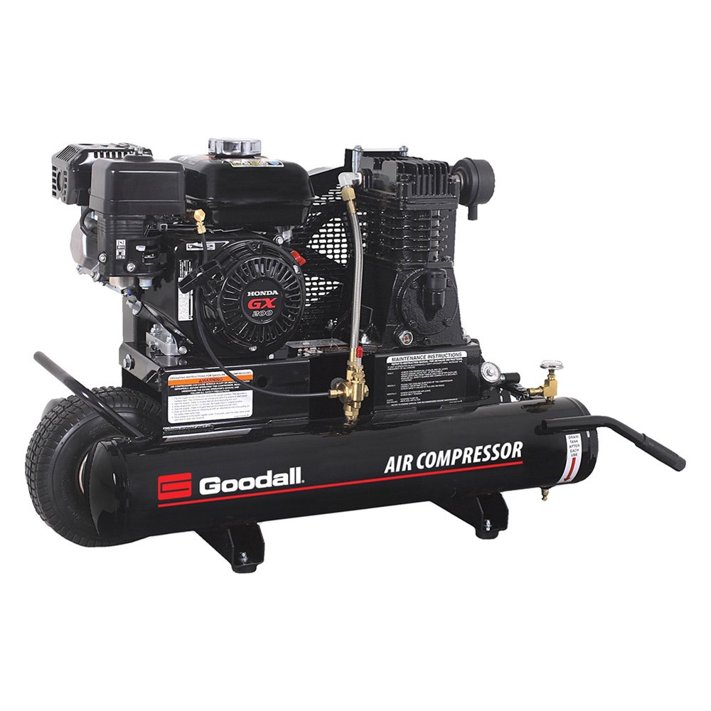 Goodall® 65-100 - 13.1 CFM 1 Stage Portable Air Compressor