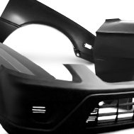 Goodmark® - Replacement Front Bumper Cover