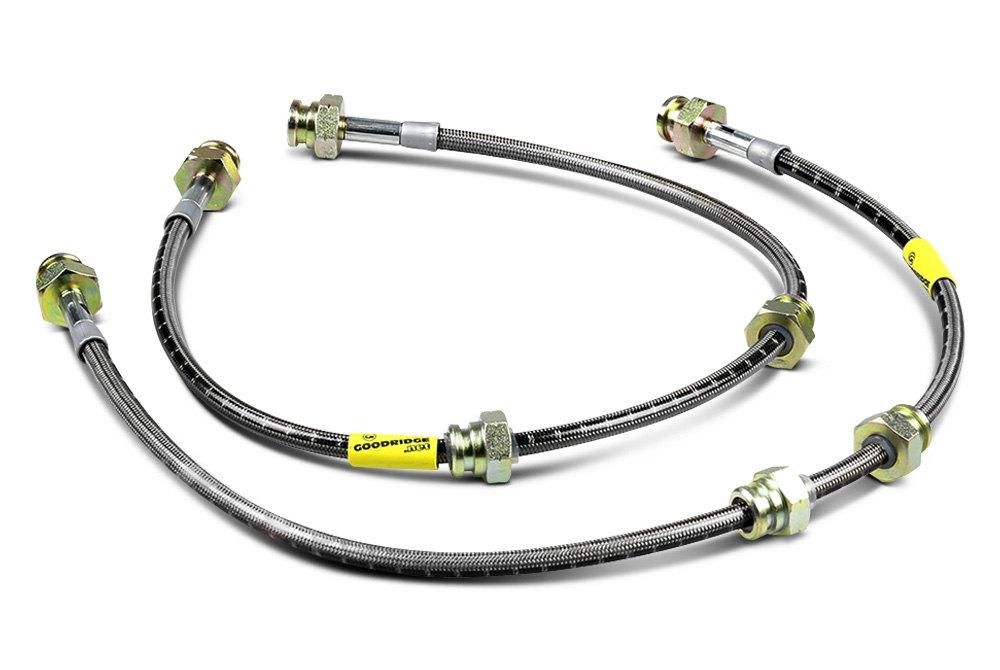Goodridge Brake Lines Stainless Steel : Goodridge™ stainless steel brake lines — carid