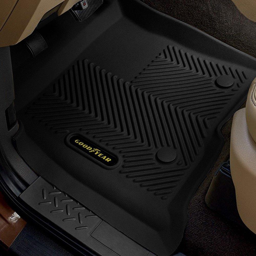 Goodyear floor mats -  Goodyear 1st Row Black Floor Liners