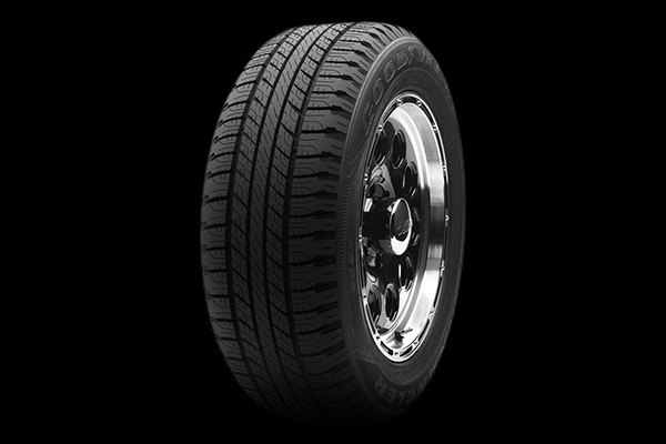 goodyear wrangler hp all weather tires all season all terrain tire for cars. Black Bedroom Furniture Sets. Home Design Ideas