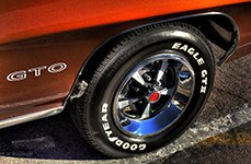 GOODYEAR® - Tires on Pontiac GTO