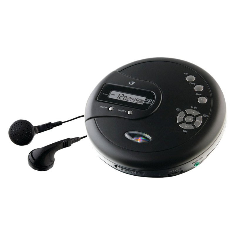 Gpx pc332b personal cd player - Mobile porta cd ...