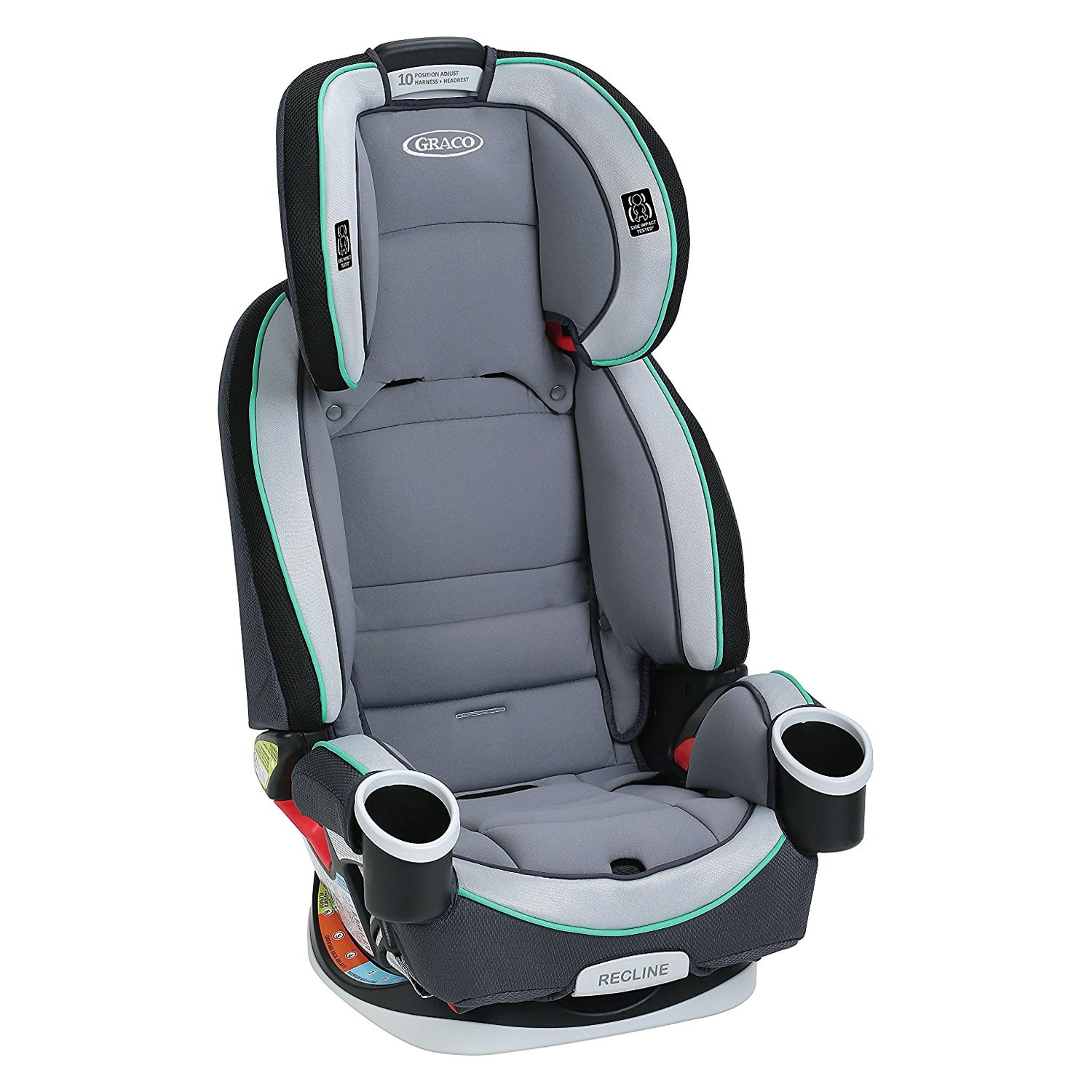 ... Baby® - 4Ever™ Basin Style All-in-1 Car SeatGraco ...  sc 1 st  CARiD.com & Graco Baby® - 4Ever™ All-in-1 Car Seat islam-shia.org