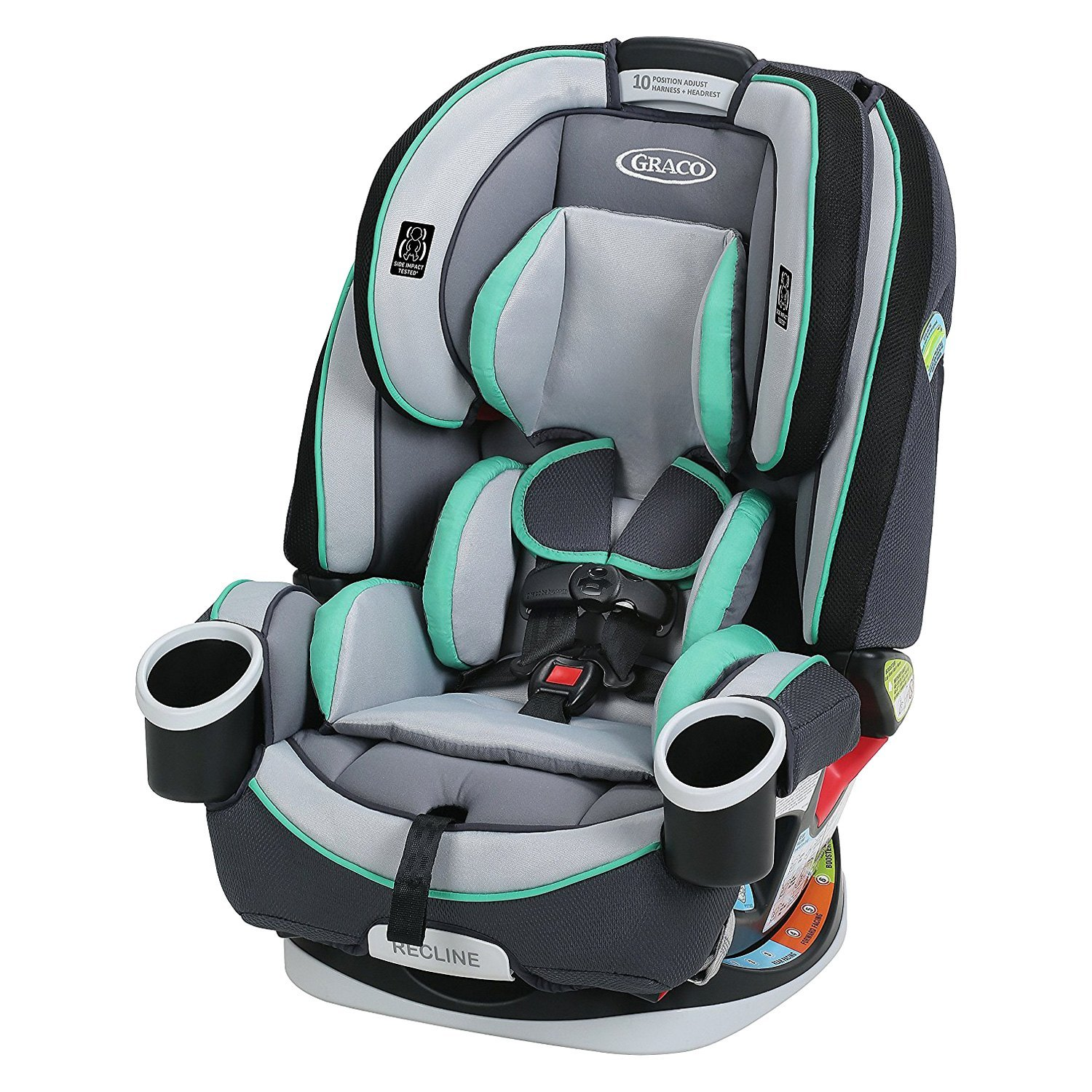 graco baby 4ever all in 1 car seat. Black Bedroom Furniture Sets. Home Design Ideas