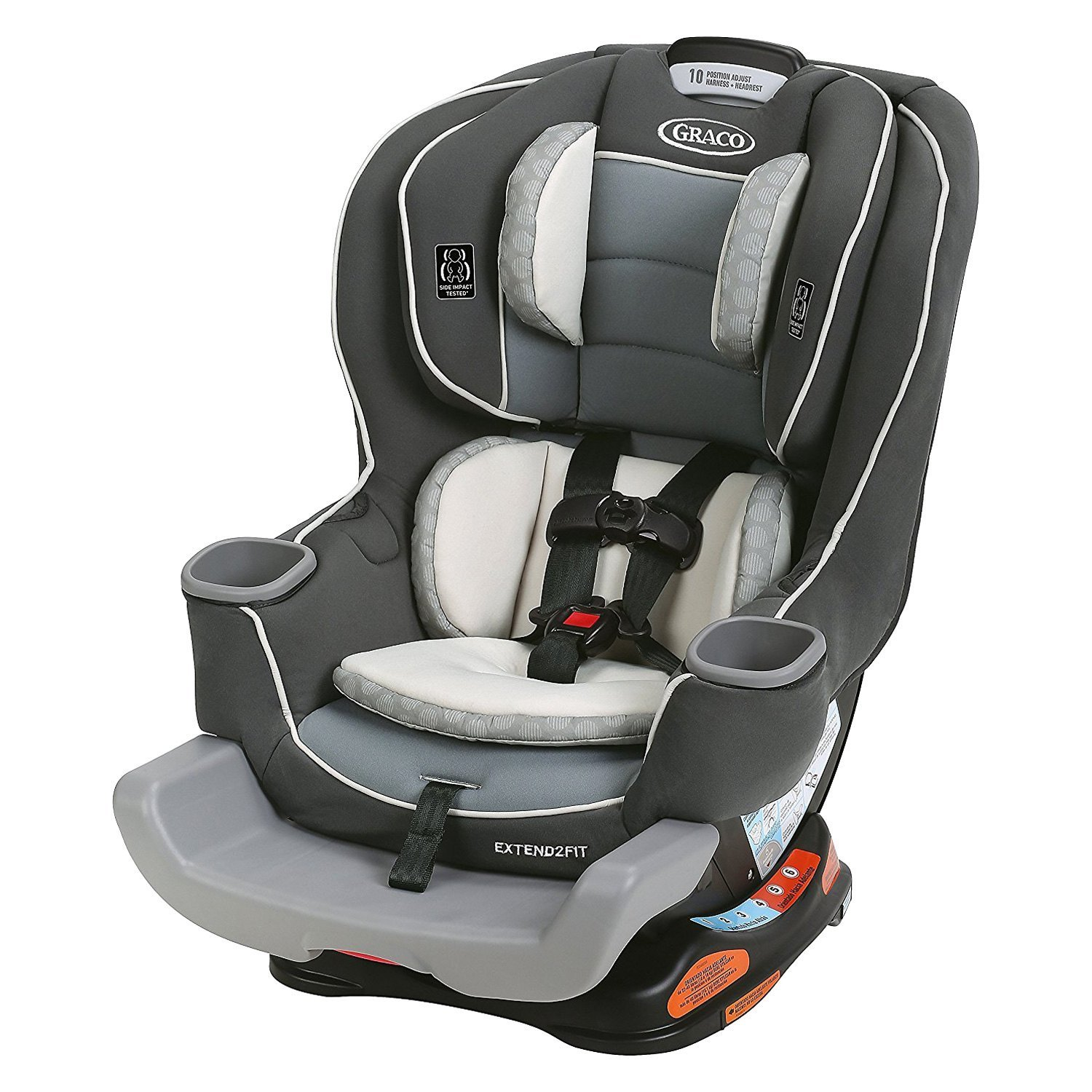 Graco Baby® - Extend2Fit™ Convertible Car Seat