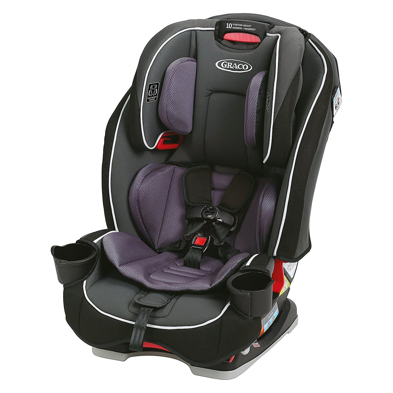 Graco Baby 174 Slimfit Space Saving All In One Car Seat
