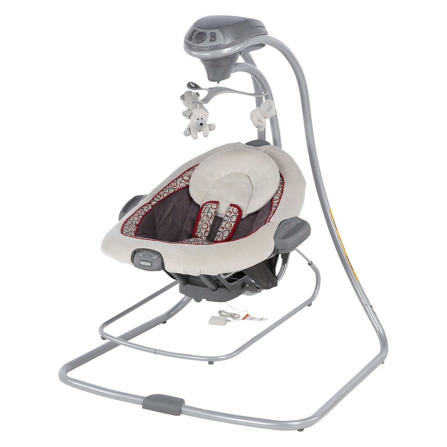 Graco Baby DuetConnect™ LX Swing and Bouncer Bassinet