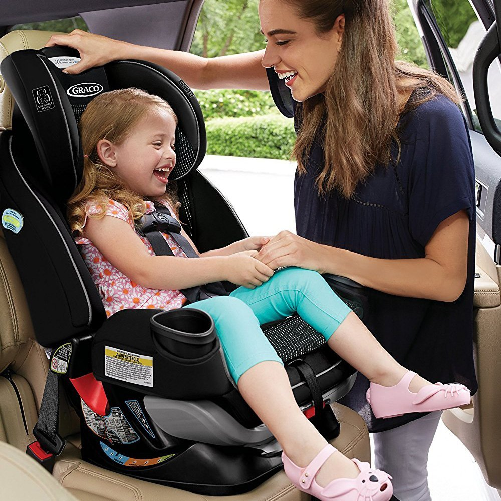 Graco Baby® - 4Ever™ Extend2Fit™ All in One Convertible Car Seat