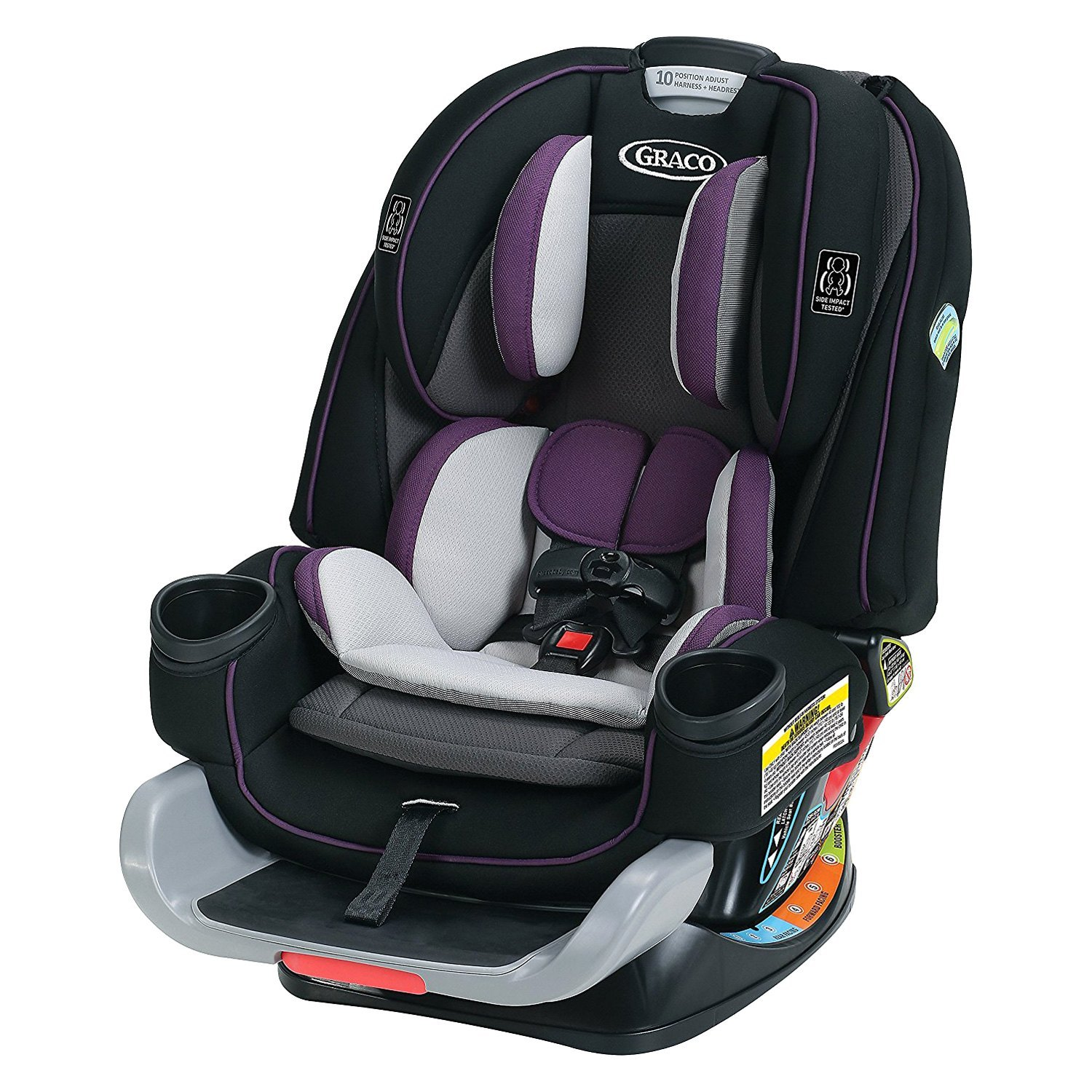 Graco baby 4ever extend2fit all in one convertible for Silla 4ever graco
