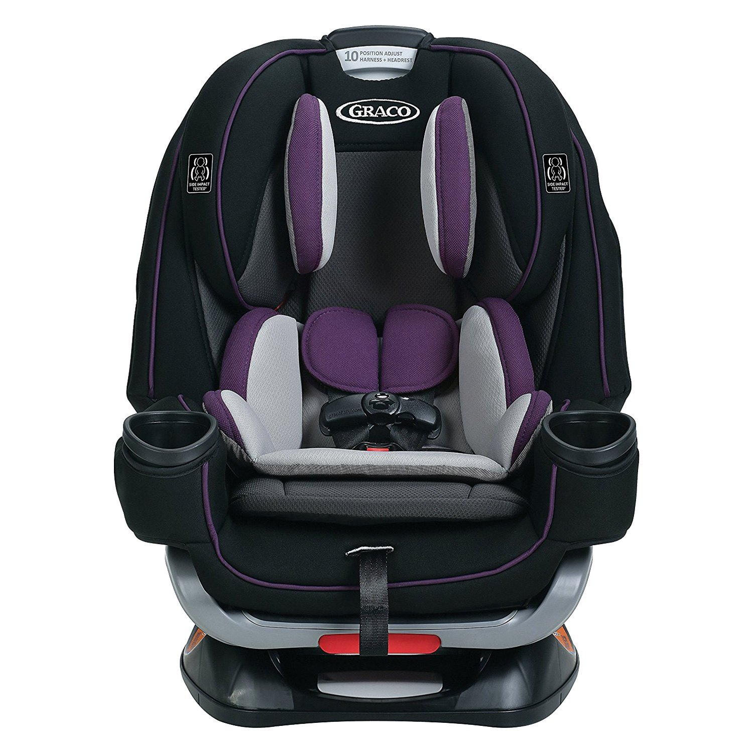 graco baby 2001872 4ever extend2fit jodie style all in one convertible car seat. Black Bedroom Furniture Sets. Home Design Ideas