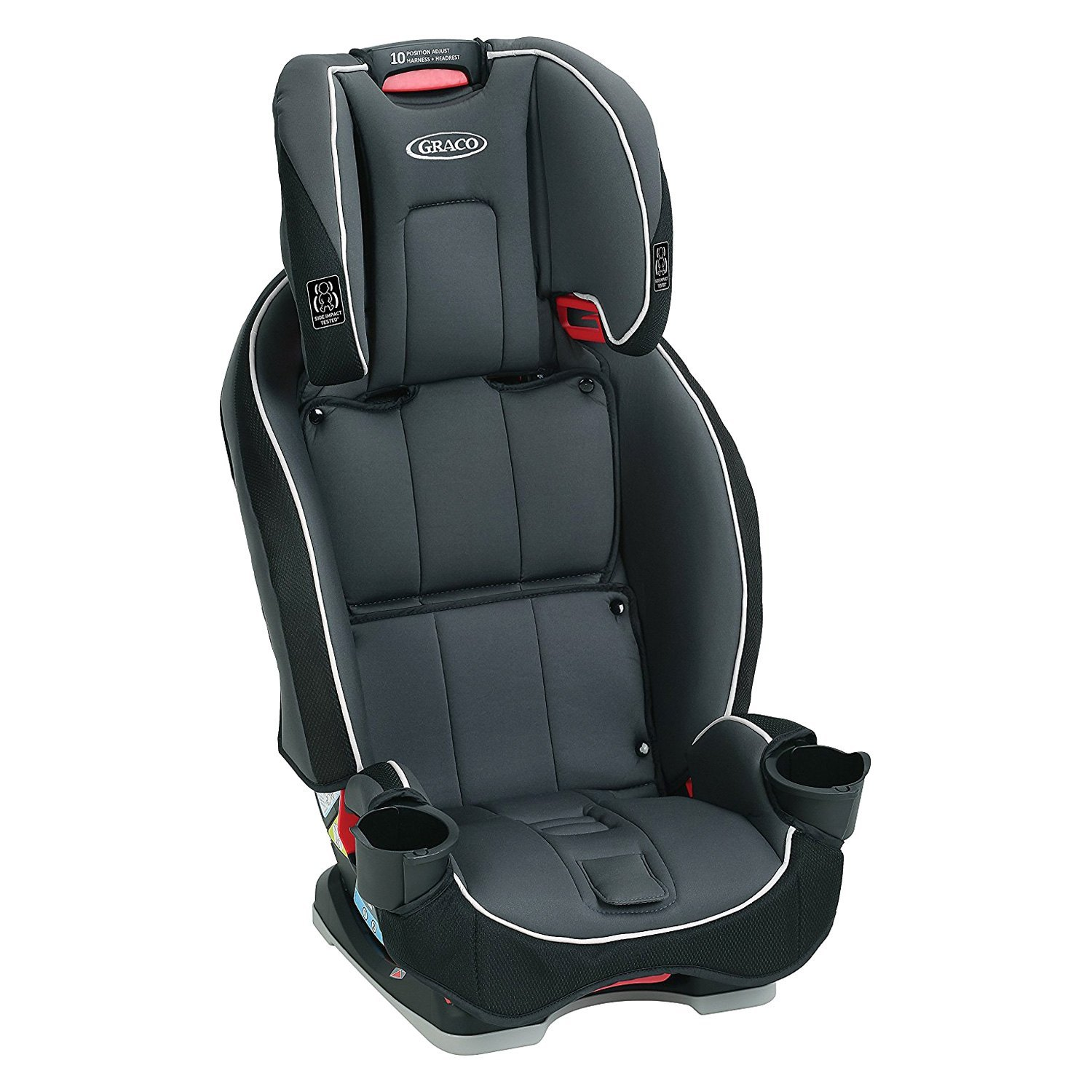 Graco Baby 2001876 SlimFit Darcie Style Space Saving All In One Car Seat