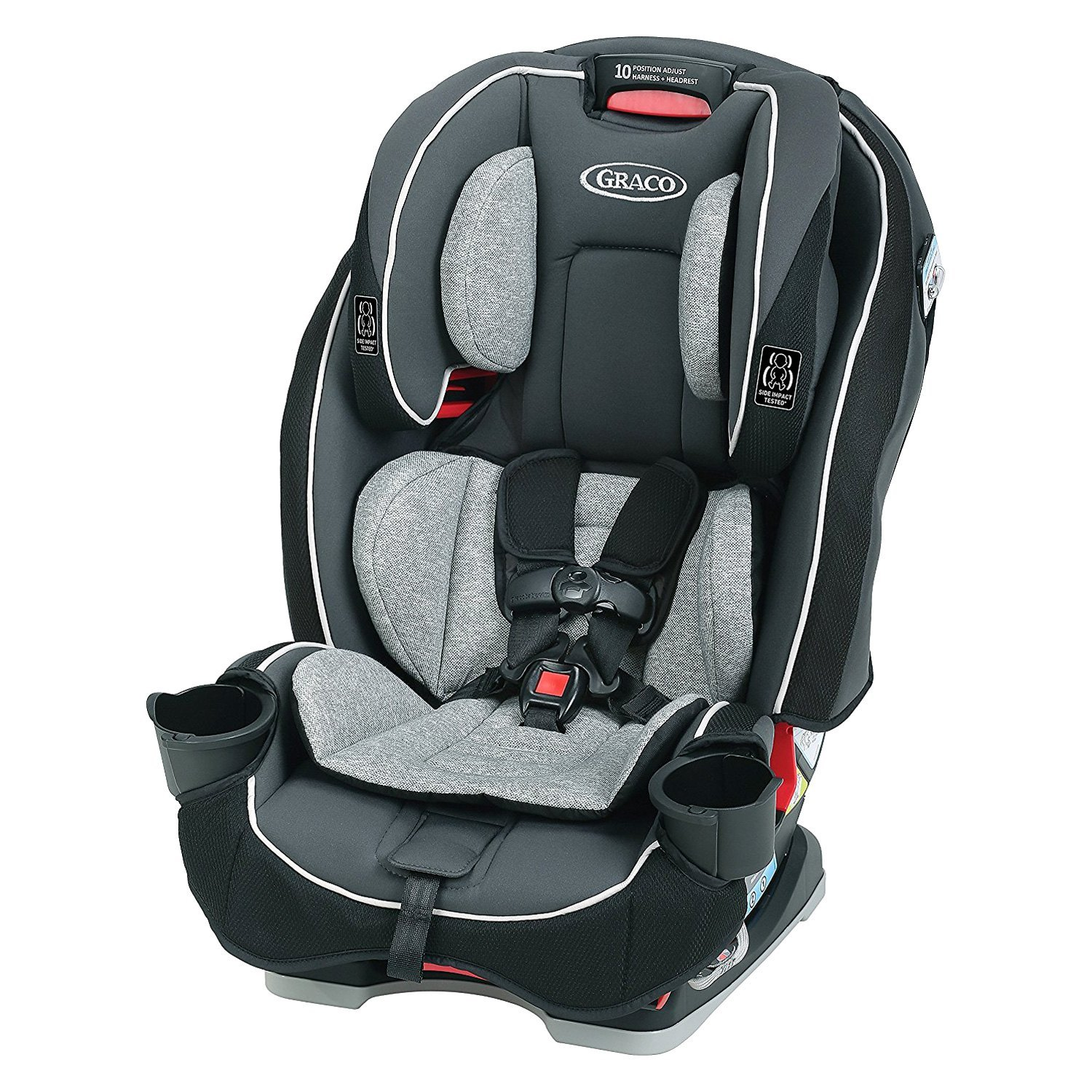 graco baby slimfit space saving all in one car seat. Black Bedroom Furniture Sets. Home Design Ideas