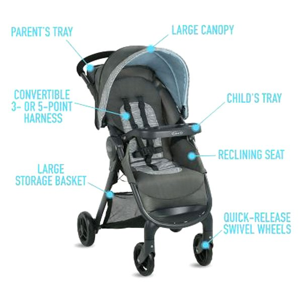 Graco Baby 2082773 Fastaction Se Carbie Style Travel System