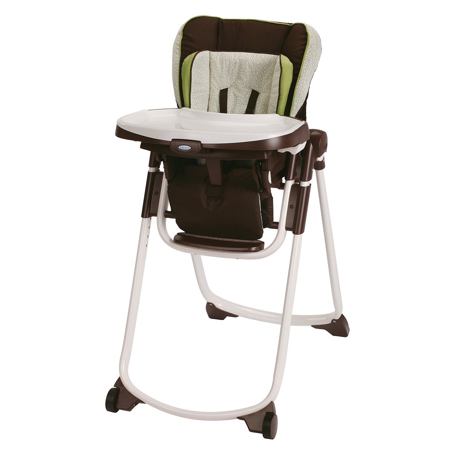 Graco Baby Slim Spaces Go Green Style Highchair