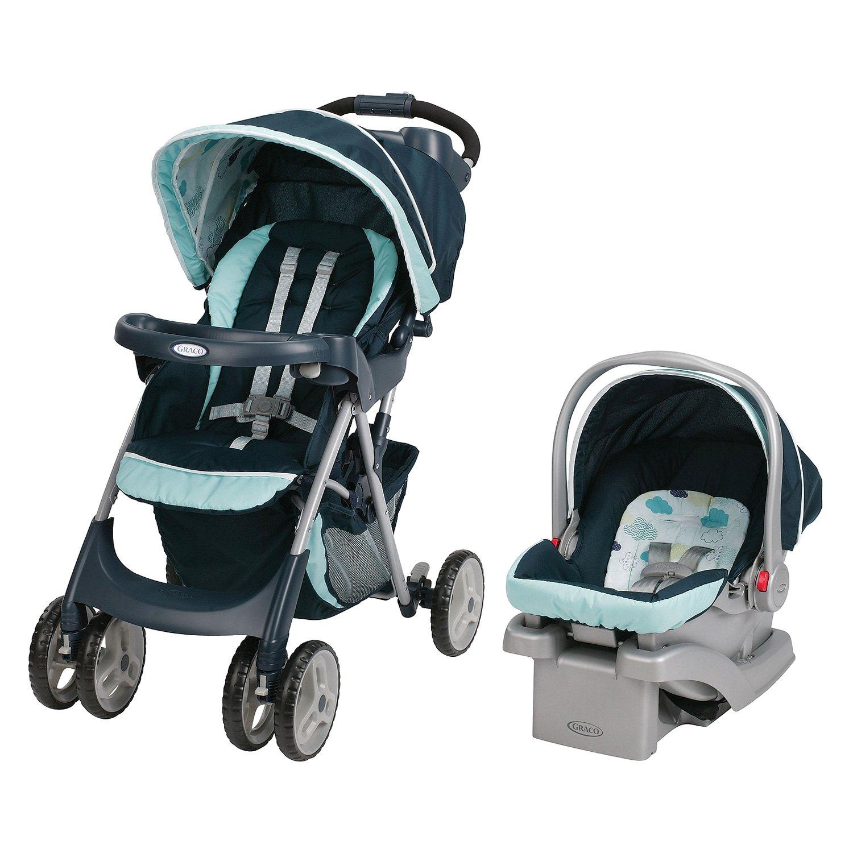 Mint Green Infant Car Seat
